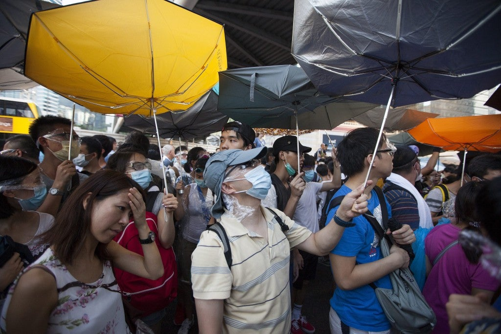 Hong Kong Students Protest