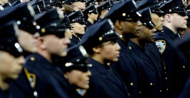 There's been a big dip on arrests in New York City. (Photo: Justin Lane/Newscom)