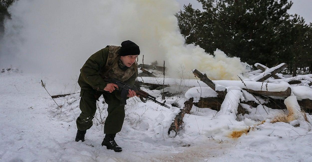 Ucrania, soldado