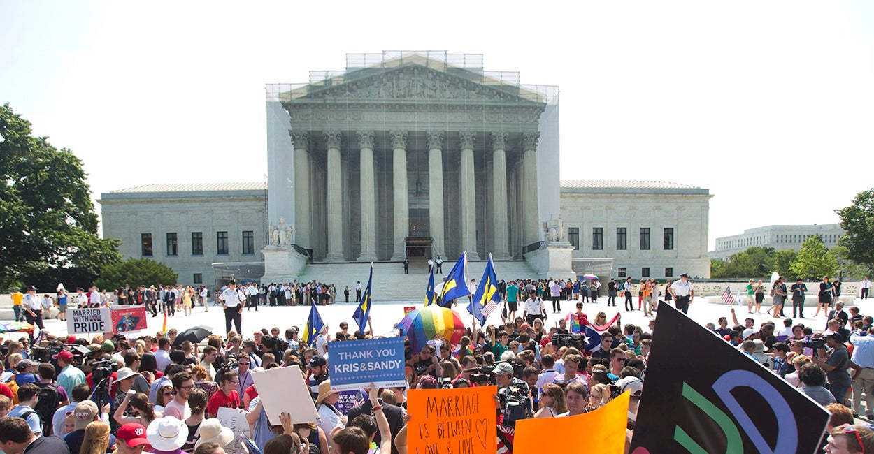 Supreme Court Rules On Gay Marriage