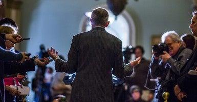 The latest CR: another example of Congress avoiding their job. (Photo: Newscom)