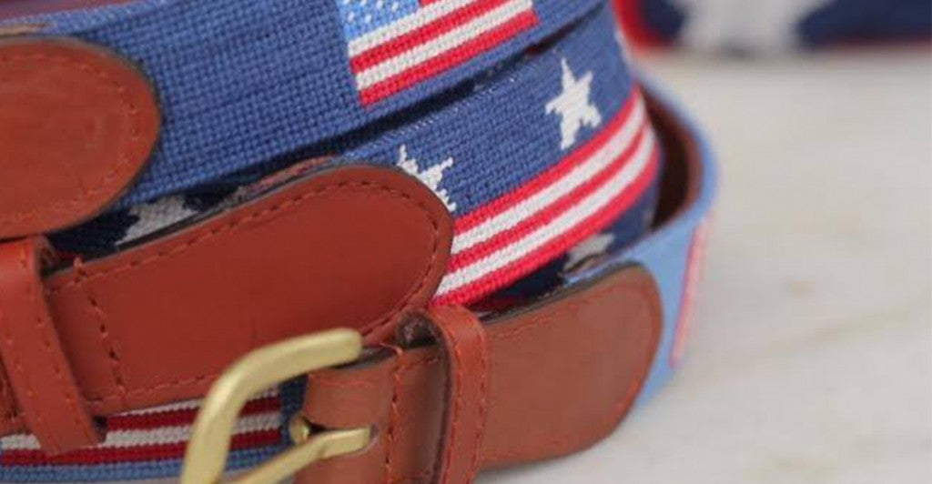 Smathers and Branson's American flag belt has been worn by three former presidents. (Photo:
