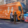 "The purpose of the Free Speech Bus is to  convey the message  that ""we are made male and female and that's rooted in biology and can't be changed."" (Photo: Erik McGregor/Sipa USA/Newscom)"