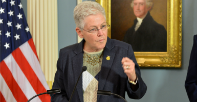 Environmental Protection Agency administrator Gina McCarthy. (Photo: State Department/Sipa USA/Newscom)