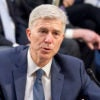 """I don't view my colleagues as Republican judges or Democrat judges, I view them as judges,"" Supreme Court nominee Neil Gorsuch tells the Senate Judiciary Committee. (Photo: Ron Sachs/CNP/Sipa USA /Newscom)"