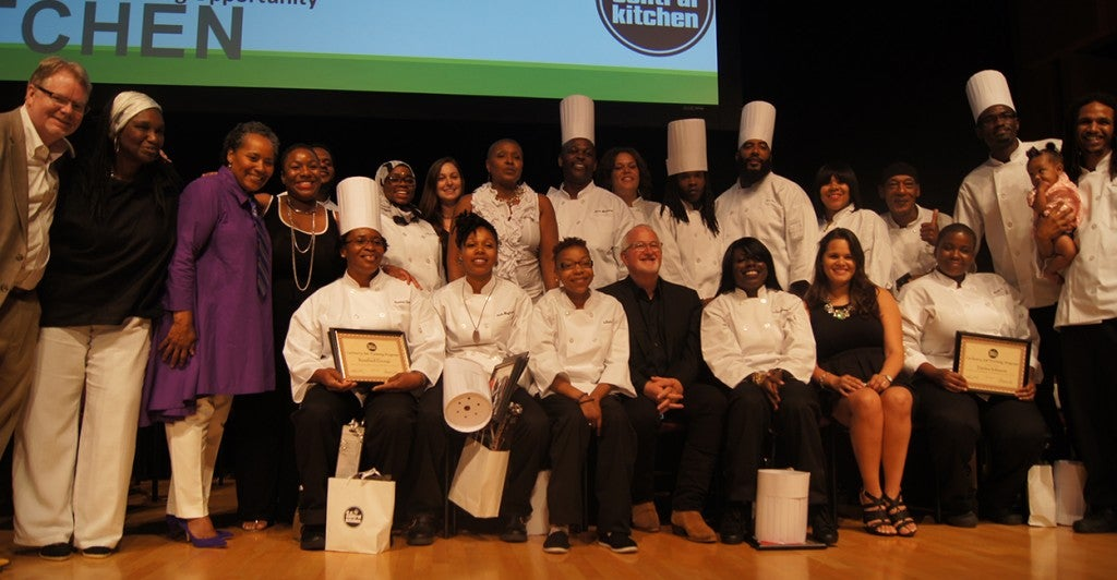 The D.C. Central Kitchen 100th class graduation. (Photo: D.C. Central Kitchen)