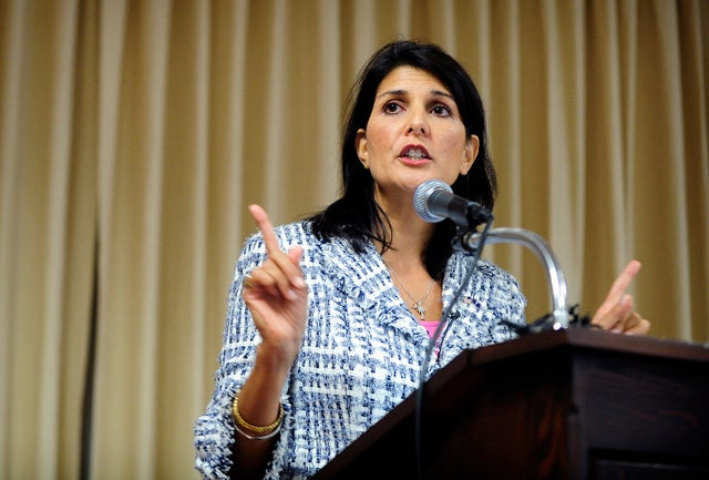 South Carolina Governor Nikki Haley (Photo: Newscom)