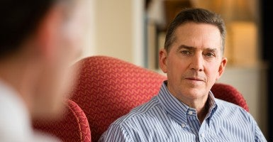 'We want to talk in  more specifics,' says Heritage Foundation President Jim DeMint. (Photo: David Hills)