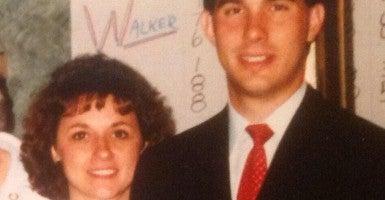 Scott Walker and his wife, Tonette,  back in the day. (Photo: Scott Walker Twitter)