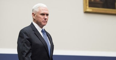 In the CPAC spotlight: Indiana Gov.  Mike Pence (Photo: Bill Clark/Newscom)