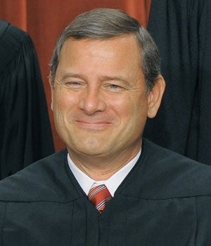 Chief Justice of the Supreme Court John Roberts