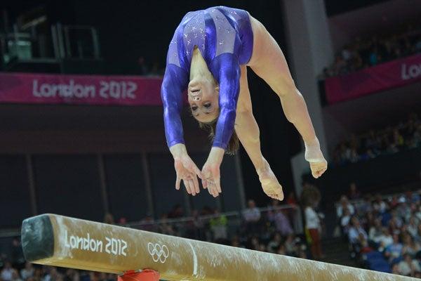 US gymnast Jordyn Wieber