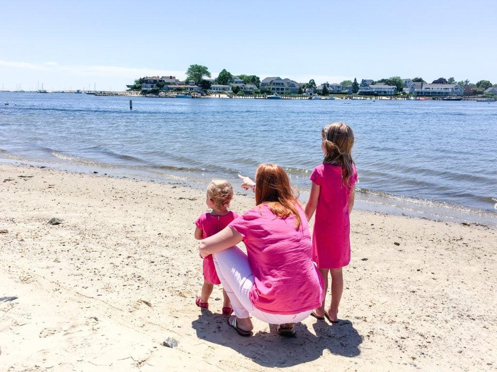 Kozma with two of her children. (Photo courtesy Bethany Kozma.)