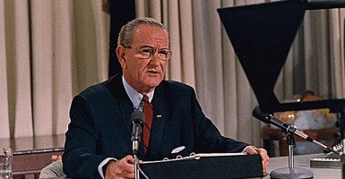 President Lyndon B. Johnson (Photo: Lyndon Baines Johnson Library/National Archives/MCT)