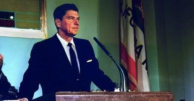 Ronald Reagan (Photo: Sacramento Bee/Newscom)