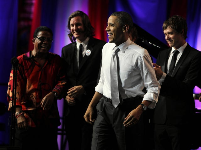 President Obama at 50th birthday party