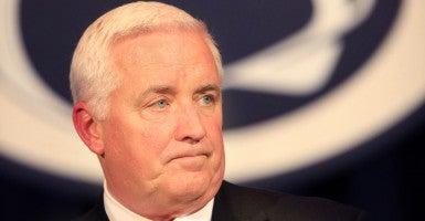 Former Governor Tom Corbett (Photo: Newscom)