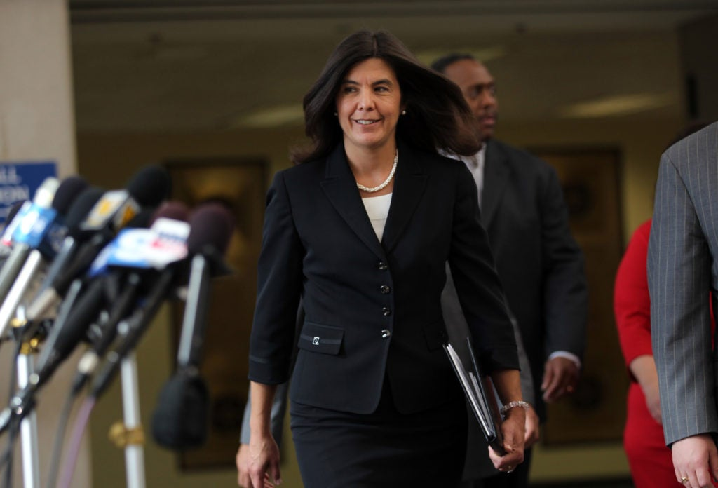 In Chicago's Cook County, incumbent State's Attorney Anita Alvarez was defeated by a candidate who received support from George Soros. (Photo: Abel Uribe/MCT/Newscom