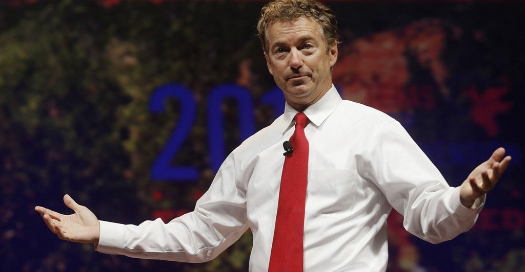 Kentucky Sen. Rand Paul (Photo: Newscom)