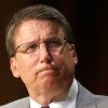 North Carolina Gov. Pat McCrory, a Republican, signed House Bill 2 that established public restroom facility accessibility be based on biological sex. (Photo: Ethan Hyman/TNS/Newscom)