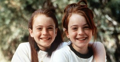 Young Lindsay Lohan starred in The Parent Trap, a movie about twin girls trying to reunite their divorced parents. Credit: LOREY SEBASTIAN/KRT/Newscom
