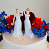 Jack Phillips, a Colorado baker, doesn't want to be forced to make and decorate cakes like this for same-sex marriages. (Photo: Richard B. Levine/Newscom)