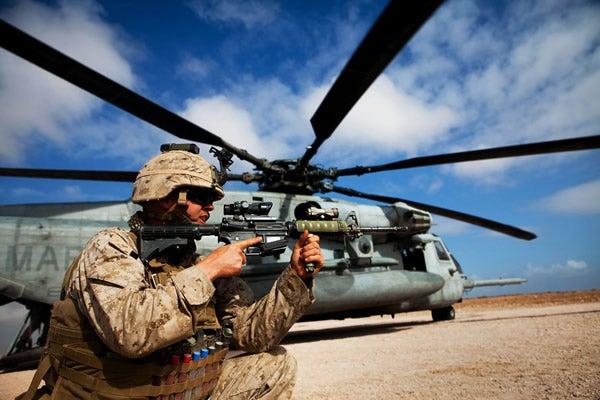 Despliegue de Marines
