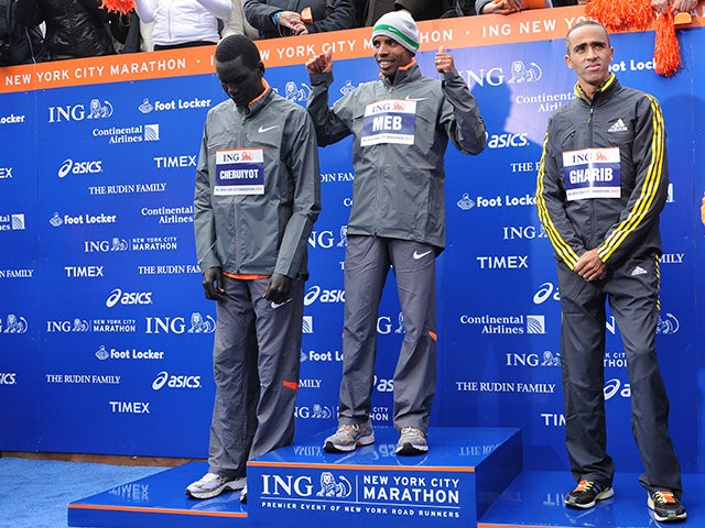 NEW YORK MARATHON, 110109