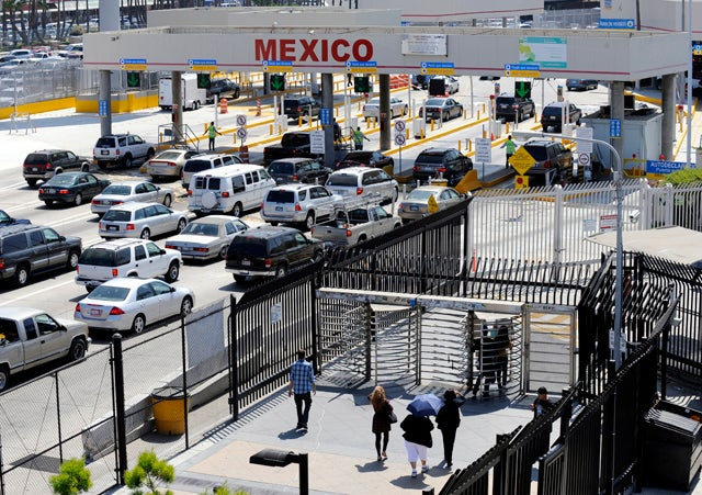 US-Mexico Border in California