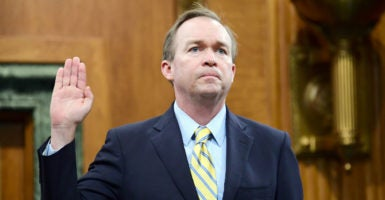 Rep. Mick Mulvaney, R-S.C., is the new director of the Office of Management and Budget. (Photo: Ron Sachs / CNP).