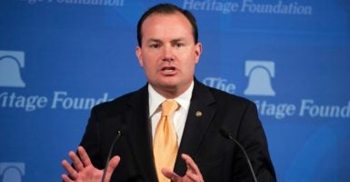 Sen. Mike Lee, R-Utah, supports the use of the Congressional Review Act to roll back regulations.  (Photo: Tom Williams/CQ Roll Call)