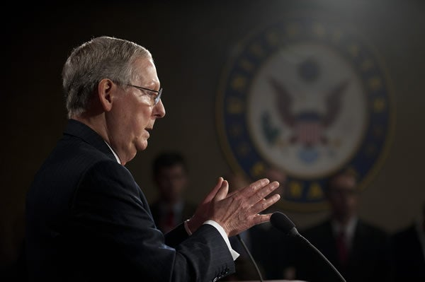 Sen. Mitch McConnell, R- Ky. (Photo: Newscom)