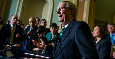 Senate Majority Leader Mitch McConnell, R-Ky. (Photo: Jim Lo/SCALZO/EPA/Newscom)