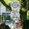 Liberals and conservatives are displeased with how North Carolina lawmakers chose to repeal the state's hotly contested bathroom law, the source of protests like this in 2016. (Photo: Al Drago/CQ Roll Call/Newscom)