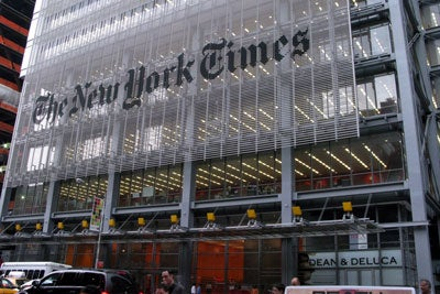 New York Times office in Manhattan
