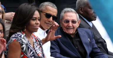Everything regarding Cuba that President Barack Obama, shown here with Raul Castro, announced the past two years can be rescinded come this Friday by Donald Trump. (Photo: Javier Lira/NOTIMEX /Newscom)