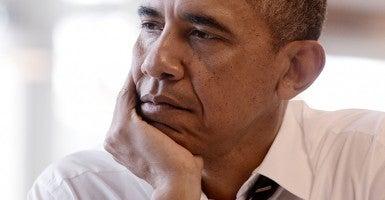 obama closeup
