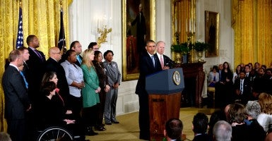 President Obama issued a series of executive actions on gun control Tuesday. (Photo: Sipa USA/Newscom)