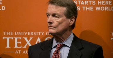 Bill Powers, President of the University of Texas at Austin (Photo: Marjorie Kamys Cotera/ Polaris/Newscom)