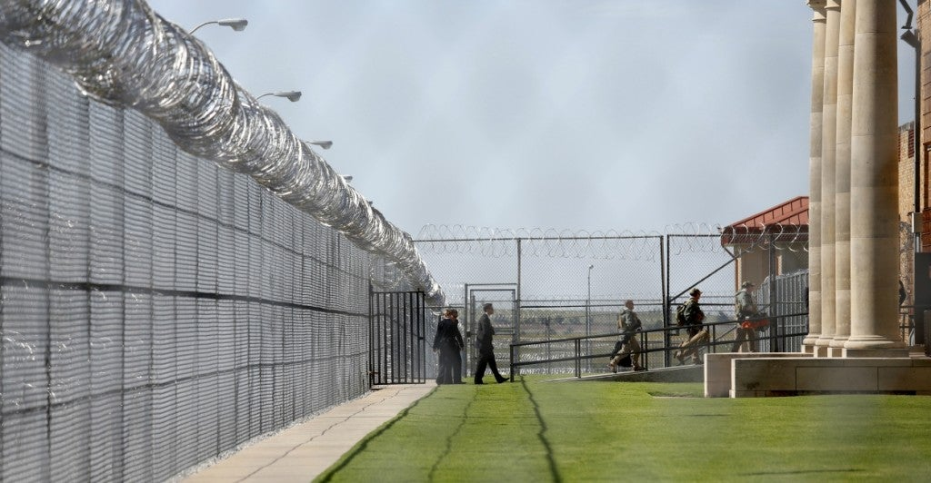 The U.S. has less than five percent of the world's population, but incarcerates almost 25 percent of the world's prisoners. (Photo: Kevin Lamarque/Reuters/Newscom)