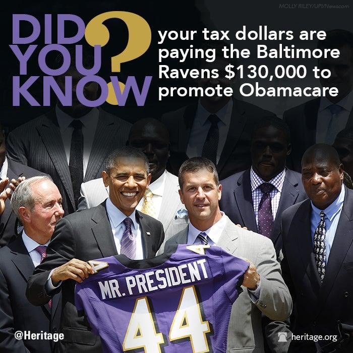 Ravens Obamacare - Obama
