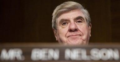 Sen. Ben Nelson, D-Neb. (Photo: Bill Clark/CQ Roll Call)