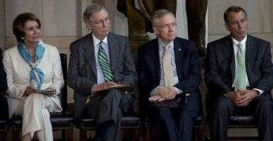 House and Senate Leadership (Photo: Newscom)