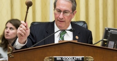 House Judiciary Chairman Bob Goodlatte, R-Va. released a set of seven principles that any online sales tax bill must meet. (Photo: Bill Clark/CQ Roll Call)