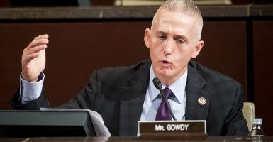 Rep. Trey Gowdy, R-S.C., at today's hearing . (Photo: Bill Clark/CQ Roll Call)