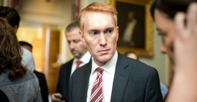 Sen. James Lankford, R-Okla., calls on the Department of Homeland Security to change language used in a U.S. citizens exam. (Photo: Newscom/Bill Clark)