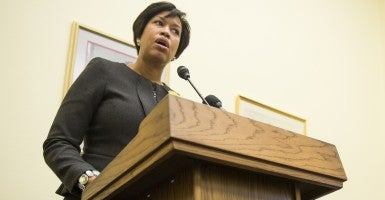D.C. Mayor Muriel Bowser (Photo: Bill Clark/CQ Roll Call)