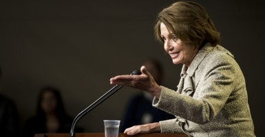 House Minority Leader Nancy Pelosi, D-Calif. (Photo: Bill Clark/CQ Roll Call)