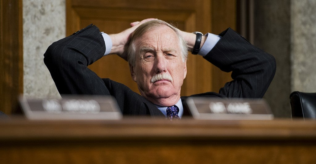 Sen. Angus King, I-Me. (Photo: Tom Williams/CQ Roll Call)