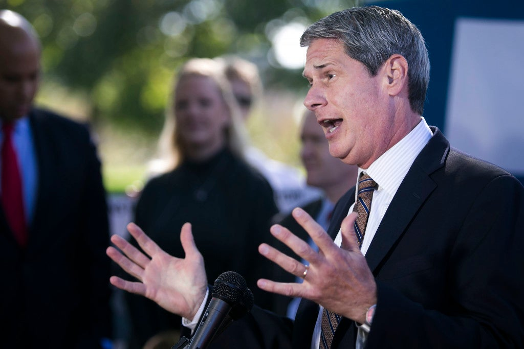 Sen. David Vitter, R-La., proposed legislation last year that would impose a fine on immigrants who wish to remit money but can't prove their immigration status. (Photo: Congressional Quarterly/CQ Roll Call/Newscom)